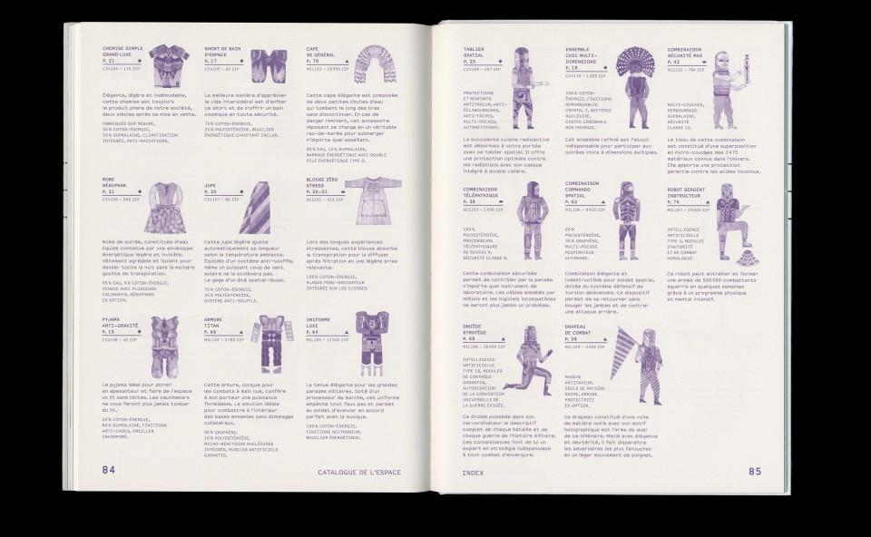 Catalogue de l'espace